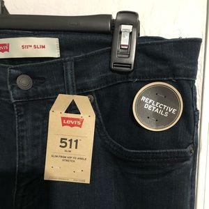 Boys Levi's 511 slim size 16/28 length 28 waste